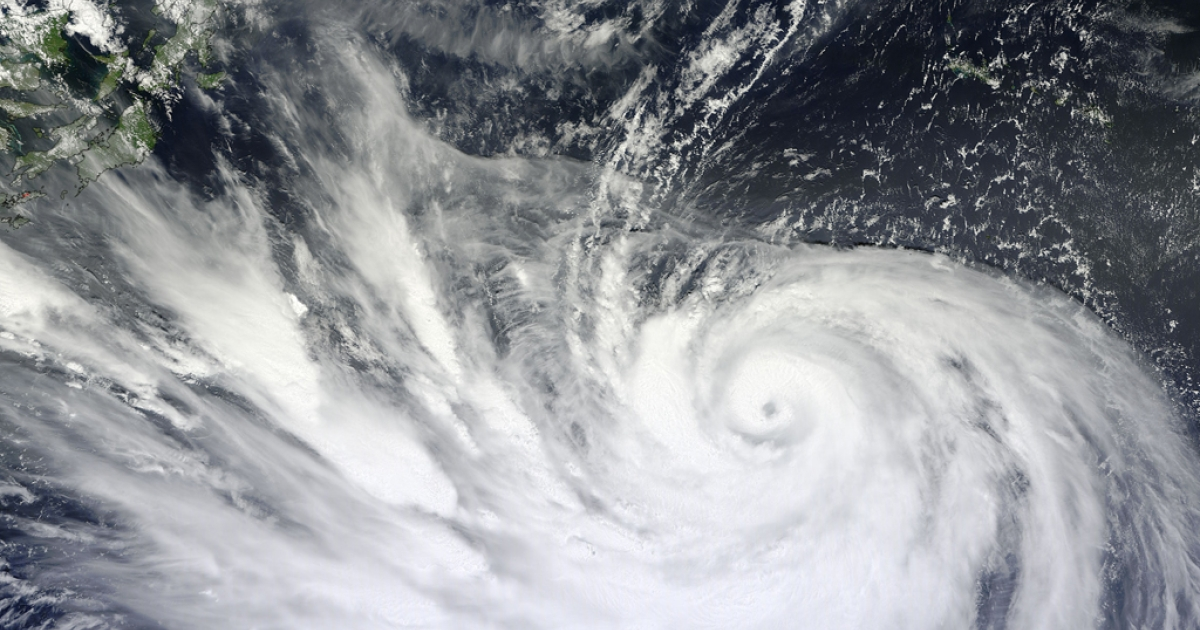 Forecasters are predicting Sunday's Typhoon Bolaven could be the strongest storm to hit the island in more than 50 years. It's 1,250 mile cloud field is 20 times larger than than Okinawa's length.</p>
