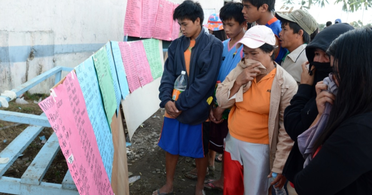 The death toll in the Philippines two days after the devastating Typhoon Bopha has risen above the 350 mark, with another 400 people still missing. Thousands were left homeless by the storm which struck on December 4, 2012.</p>