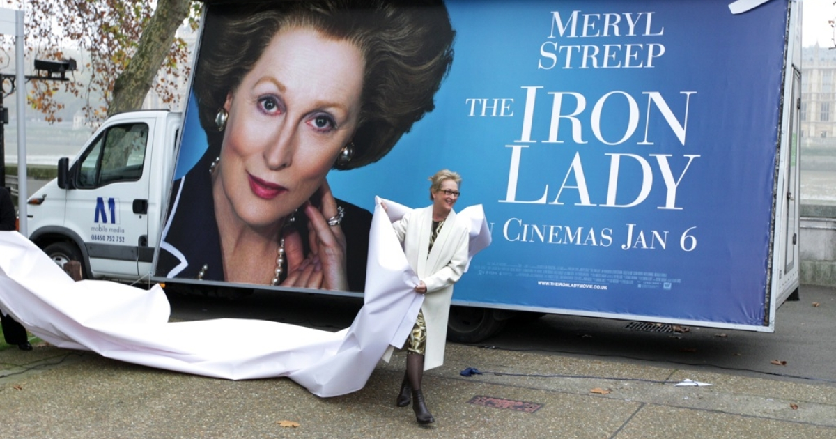 In London, Meryl Street promotes The Iron Lady, the biopic about Margaret Thatcher. But is the film an accurate portrayal of Lady Thatcher's life?</p>