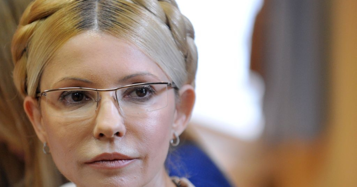 Ukraine's former Prime Minister Yulia Tymoshenko listens as the verdict on her case is read out on Oct. 11, 2011. Tymoshenko was sentenced to seven years in jail for abusing her powers in a 2009 gas deal with Russia, a verdict that has harmed ties with the European Union and other Western powers.</p>