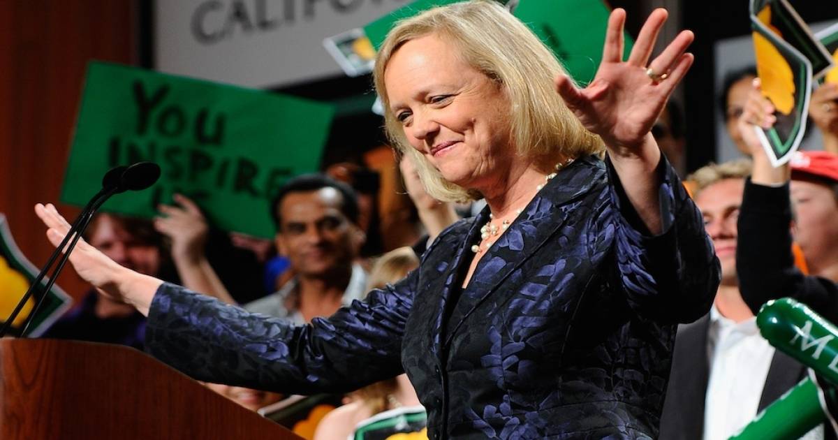 Hewlett-Packard CEO Meg Whitman will take home $15.4 million in compensation for 2012.</p>
