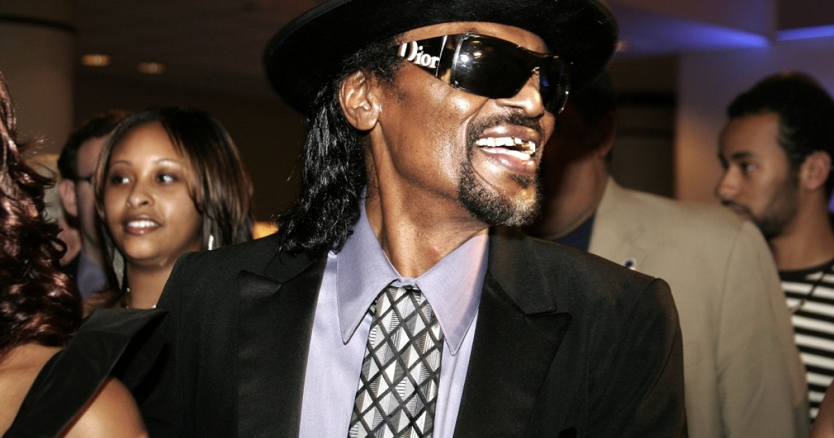 Chuck Brown arrives at Radio One's 25th Anniversary Awards Gala in Washington D.C in Aug. 2006.  Brown, 75, has died at a Baltimore hospital of