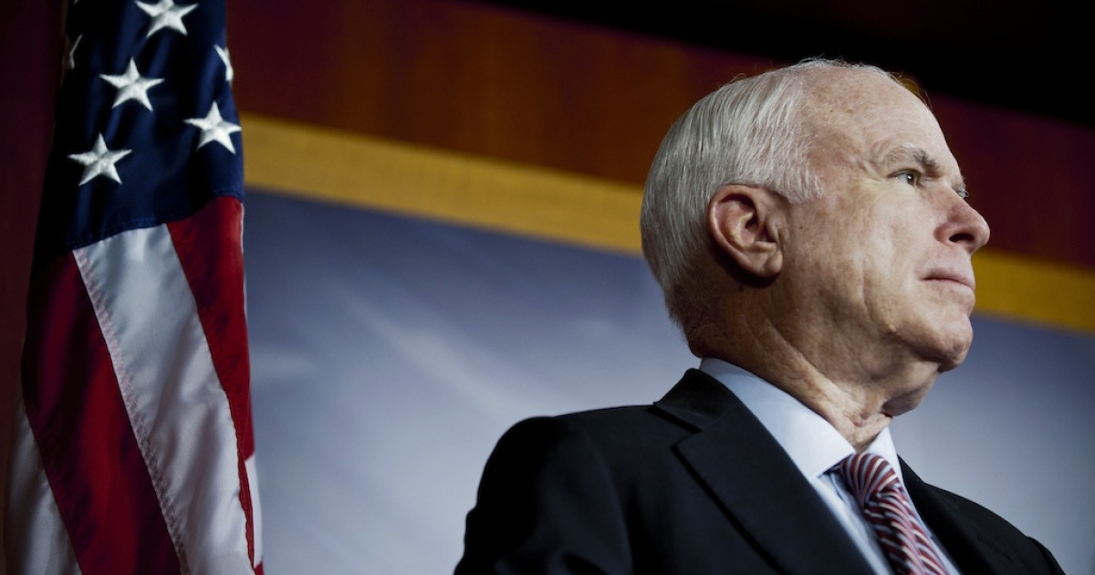 Senator John McCain (R-AZ) has joined President Obama in calling for a review of controversial 'Stand Your Ground' laws in the wake of the George Zimmerman verdict.</p>
