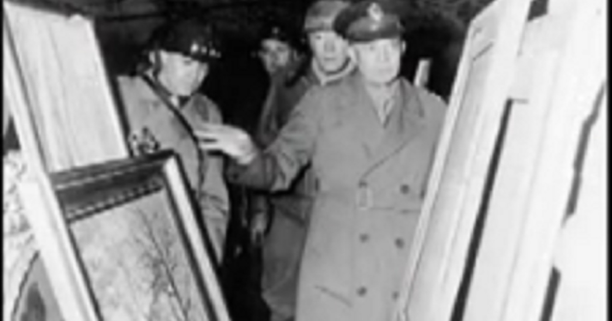 The National Archives already possess 39 other albums of stolen art and furniture.  They were discovered by American soldiers in Germany in May 1945 and used as evidence in the Nuremberg trials.</p>