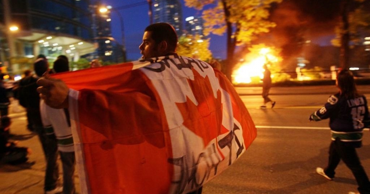 Vancouver Canucks fans took to the streets to form riots, after the hockey team lost 4-0 in Game 7 of the Stanley Cup Finals to the Boston Bruins.</p>
