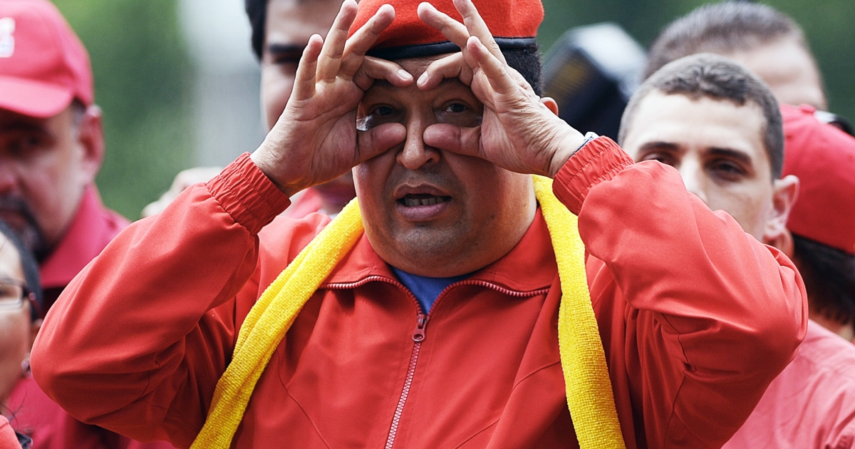 President Chavez can be playful, but if you face him in an election, his verbal assaults can be ruthless.</p>