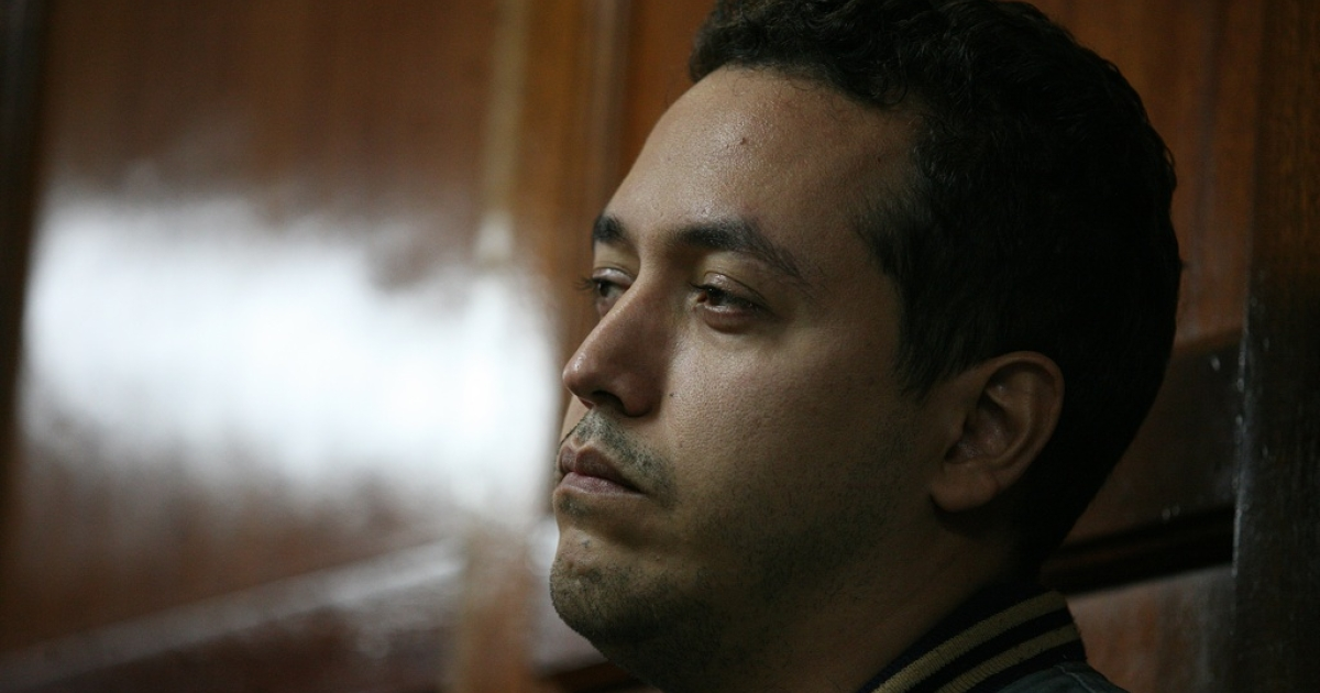 Dwight Sagaray, First Secretary at the Venezuelan embassy appears in a Nairobi high court on July 30, 2012 where police applied to hold him for 14 days in connection with the killing of the acting ambassador.</p>