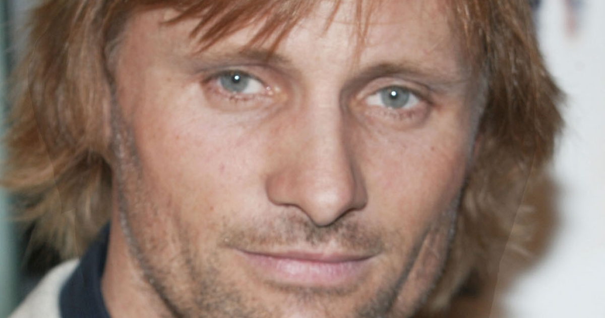 Viggo Mortensen, at the LA Premiere of The Lord of the Rings.  The late fight sword-fight choreographer Bob Anderson called him the most gifted swordsman he ever trained.</p>