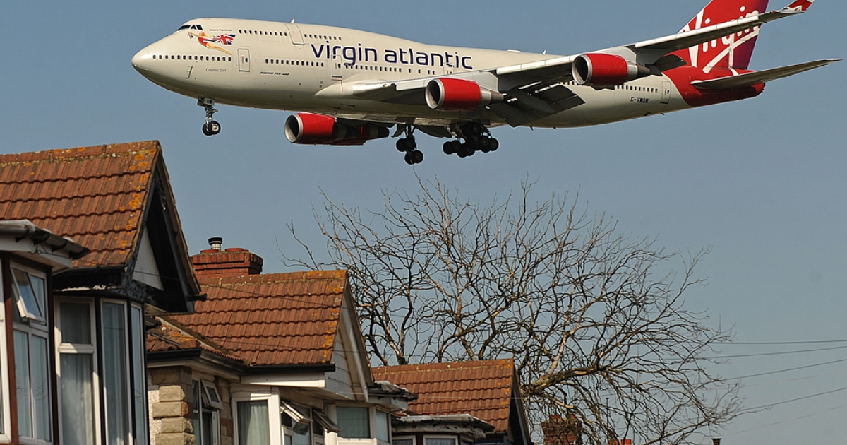 Virgin Atlantic passengers can now use cell phones while 35,000 feet in the air, as of May 15, 2012.</p>