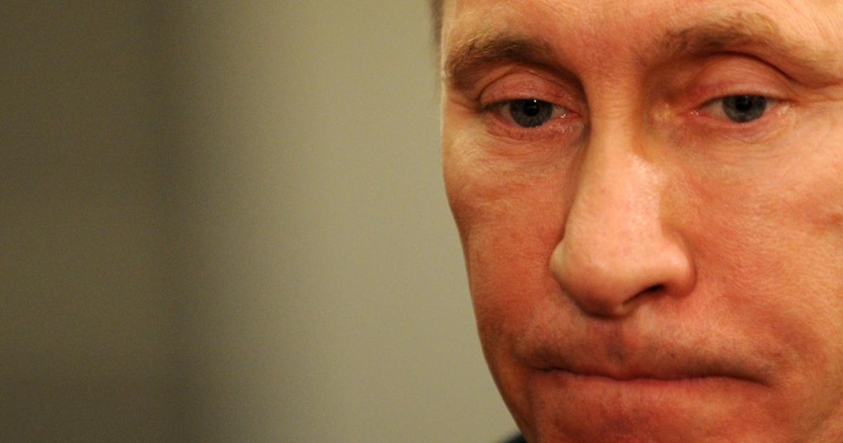 Russia's Prime Minister Vladimir Putin on Dec. 7, 2011.</p>