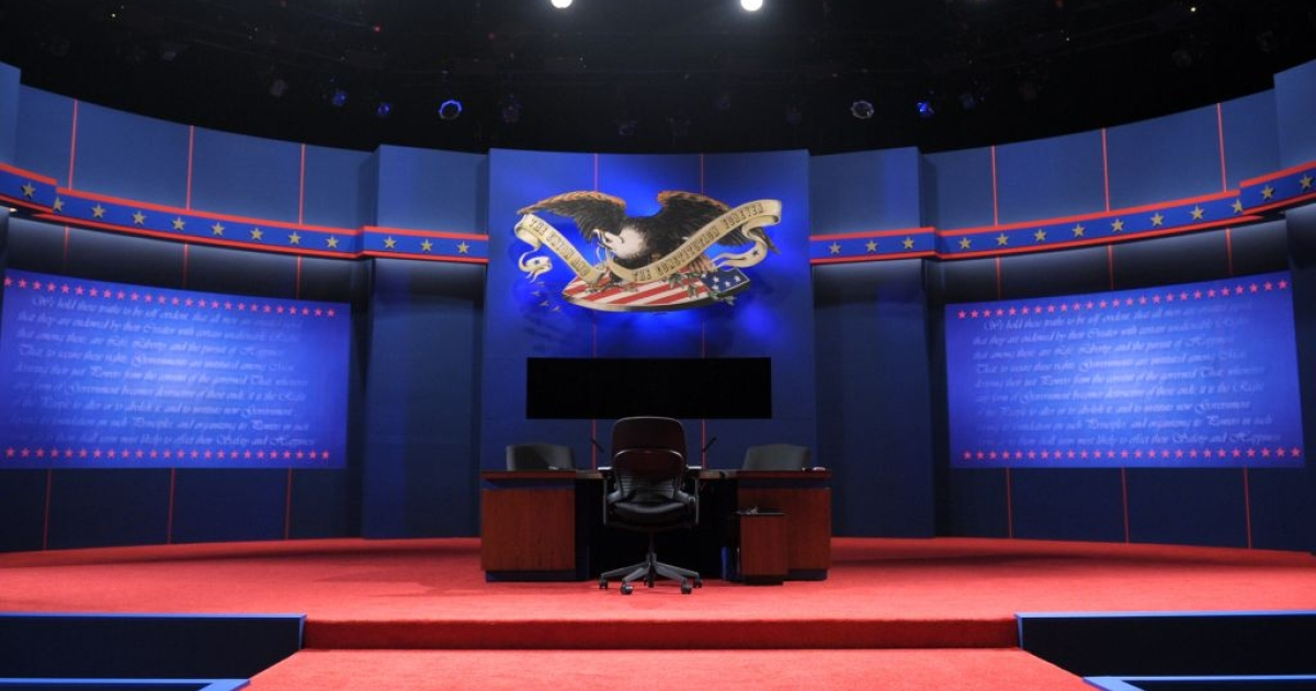 The stage was set for a showdown ahead of the Vice Presidential debate.</p>