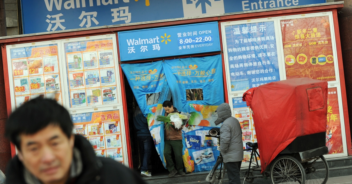 Wal-mart has more than 350 stores in China, and in the three months to the end of October reported a 16.1 percent increase in sales there from the previous year.</p>