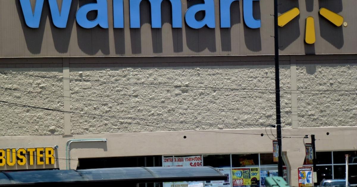 A Walmart supermarket in Mexico City.</p>