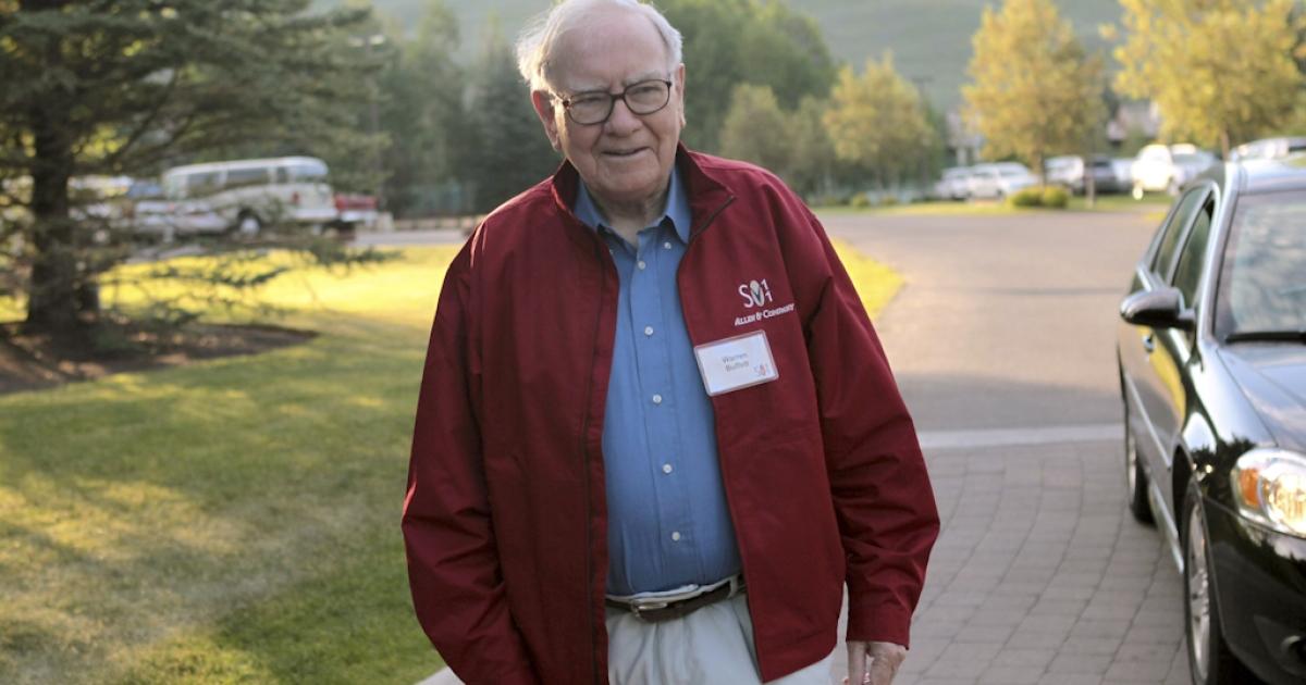 Warren Buffett, chairman of Berkshire Hathaway, attends the Allen &amp; Company Sun Valley Conference on July 7, 2011 in Sun Valley, Idaho.</p>