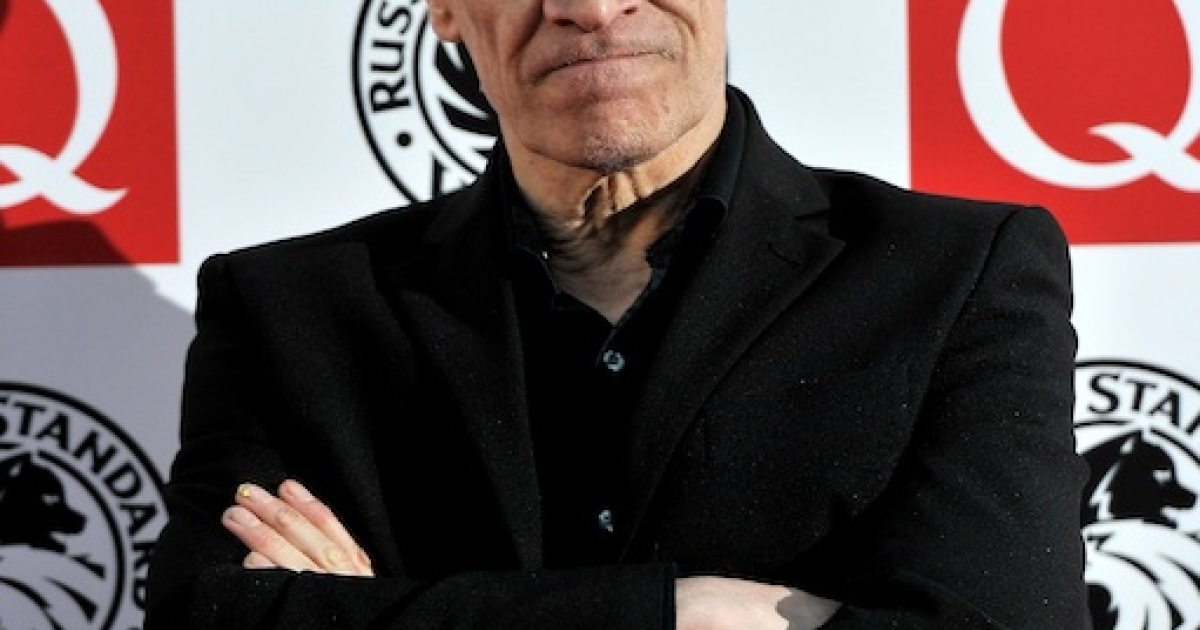 Wilko Johnson arrives at the Q Awards at Grosvenor House Hotel in London on October 25, 2010.</p>