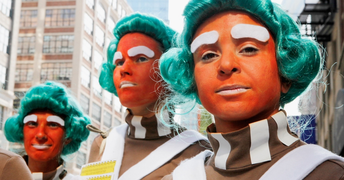 Oompa Loompas in New York City.</p>