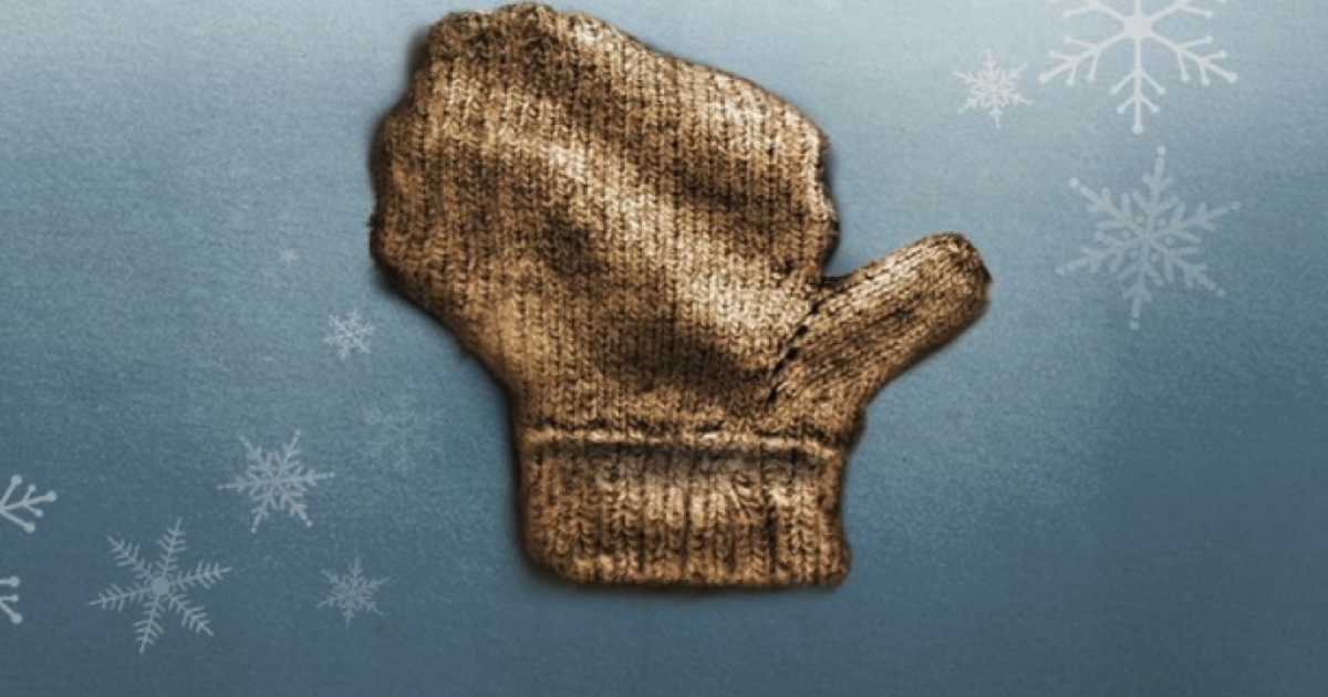 The Wisconsin-shaped mitten that's featured in the state's winter tourism ad campaign.</p>
