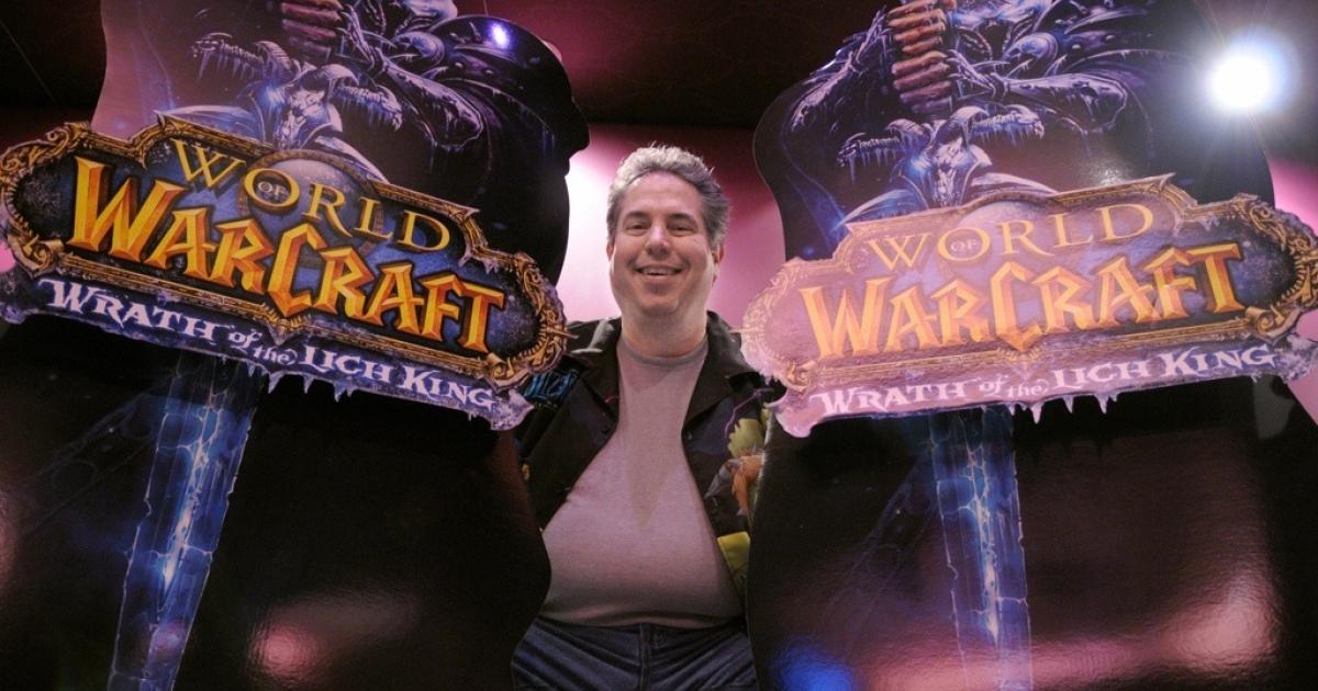 John Lagrave, a senior producer for top video game maker Blizzard Corporation, poses on Nov. 12, 2008 in Paris.</p>