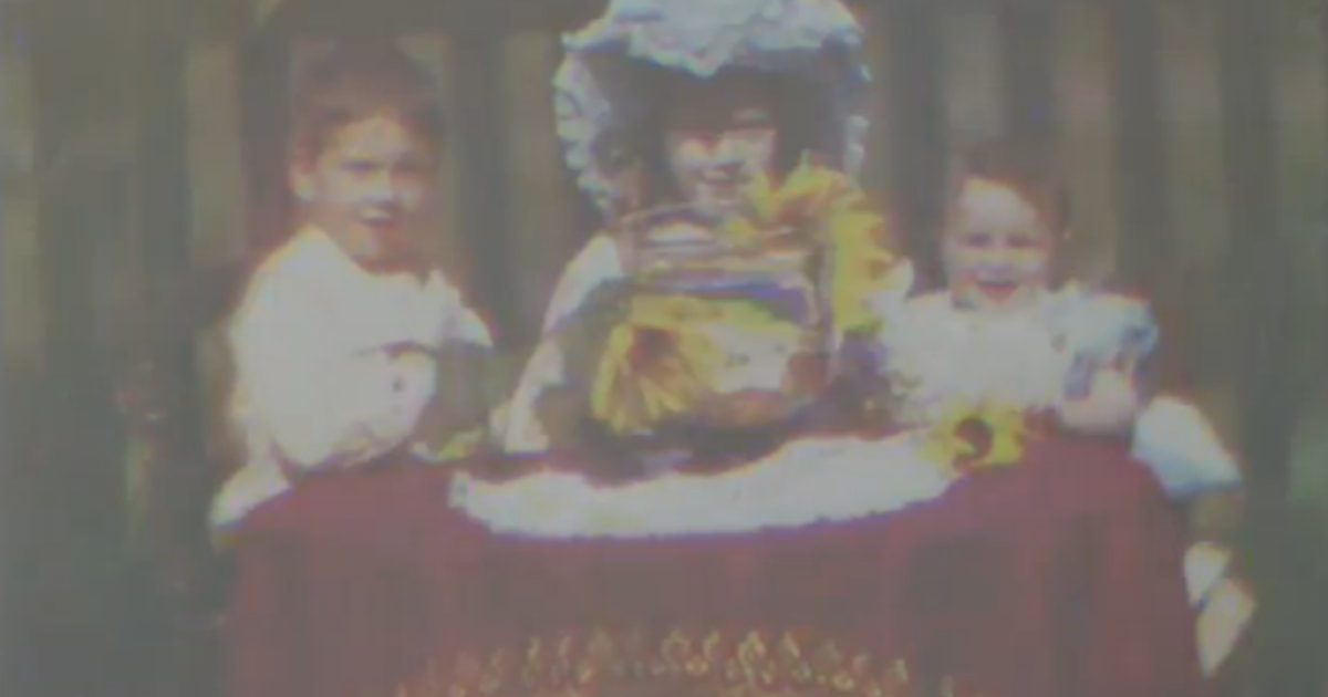 A screen shot of Edward Turner's home movie, which experts say is the world's oldest color film.</p>