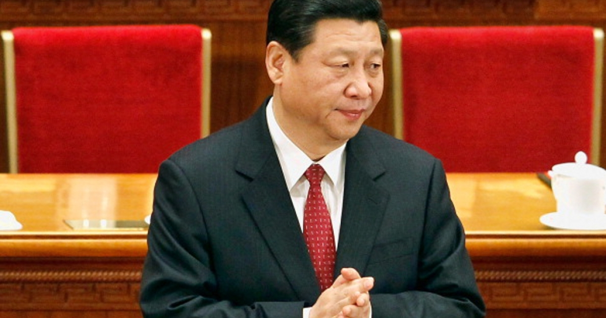 China's Vice President Xi Jinping attends the closing session of the National Committee of the Chinese People's Political Consultative Conference (CPPCC) at the Great Hall of the People on March 13, 2012 in Beijing, China. Known as 'liang hui,' or 'two organizations', it consists of meetings of China's legislature, the National People's Congress (NPC), and its advisory auxiliary, the Chinese People's Political Consultative Conference (CPPCC)</p>