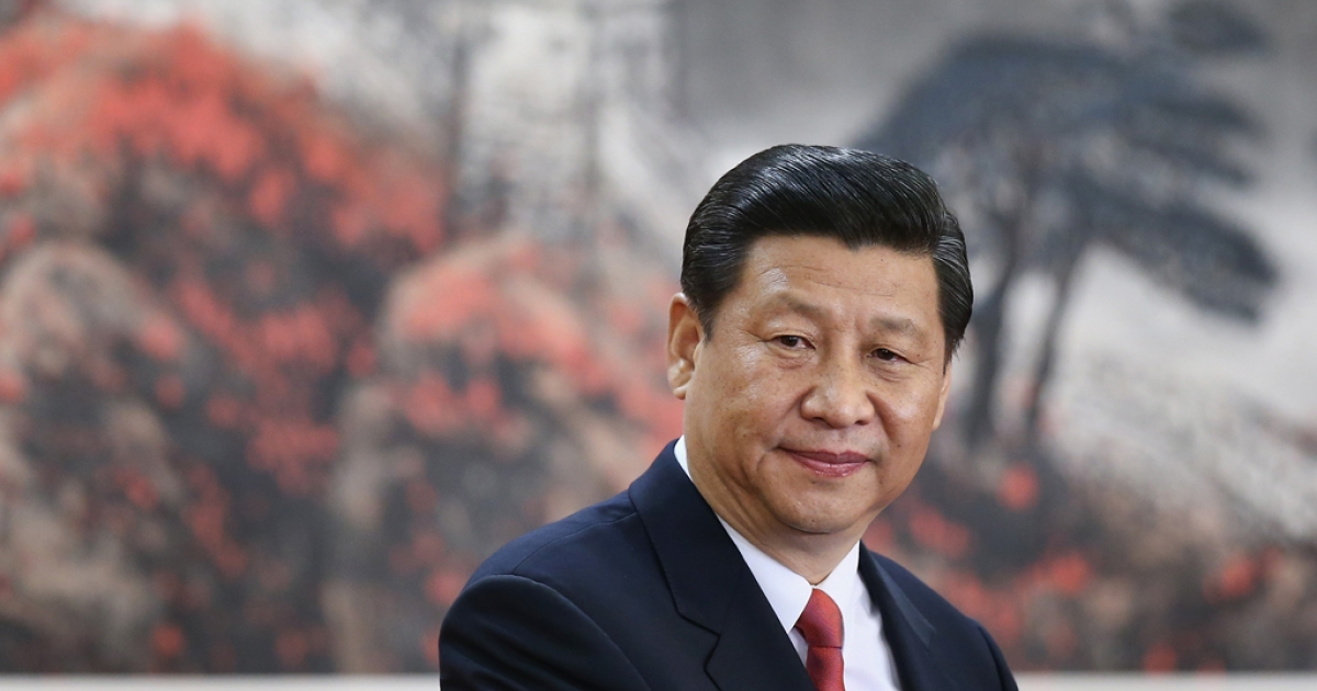 Chinese President Xi Jinping, one of the members of new seven-seat Politburo Standing Committee, delivers a speech at the Great Hall of the People on November 15, 2012 in Beijing, China. China's ruling Communist Party today revealed the new Politburo Standing Committee after its 18th congress.</p>