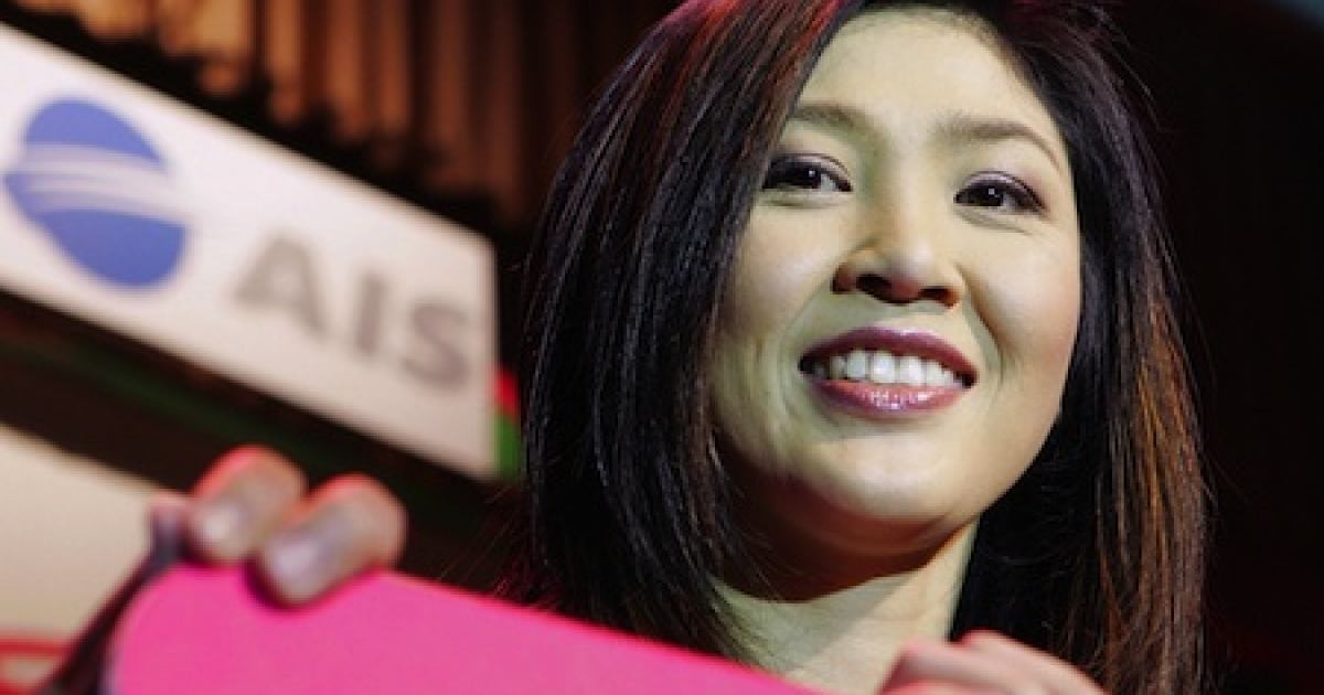 Yingluck Shinawatra, sister of ex-Thailand Prime Minister Thaksin Shinawatra, who was deposed in a 2006 coup. She is among those challenging the ruling party in an election slated for early July.</p>