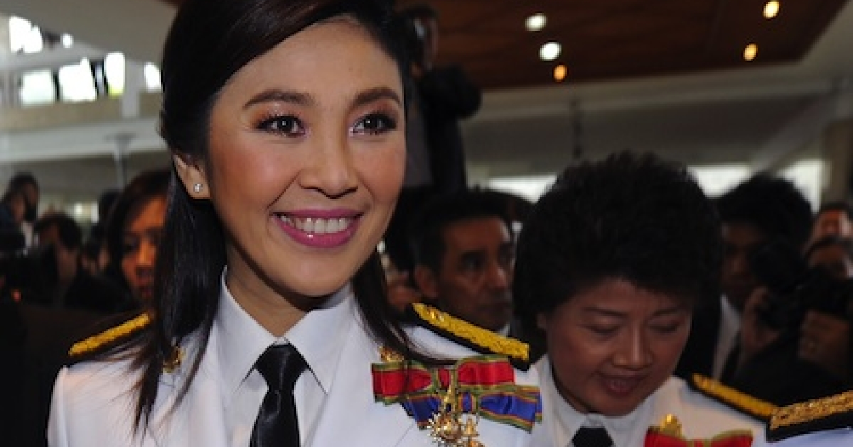 Elected in July, Thailand's Yingluck Shinawatra, 44, is the kingdom's first female prime minister.</p>