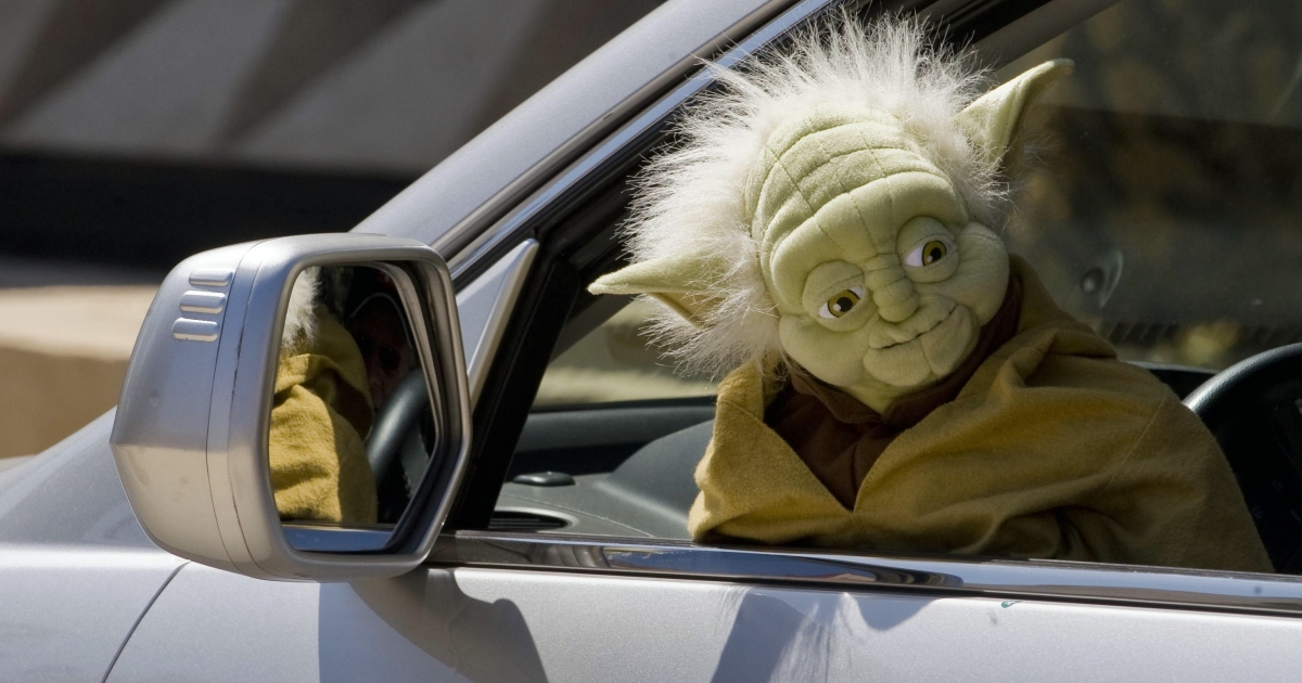 A 42-year-old man dressed as Yoda was arrested in Germany for a hit-and-run.</p>