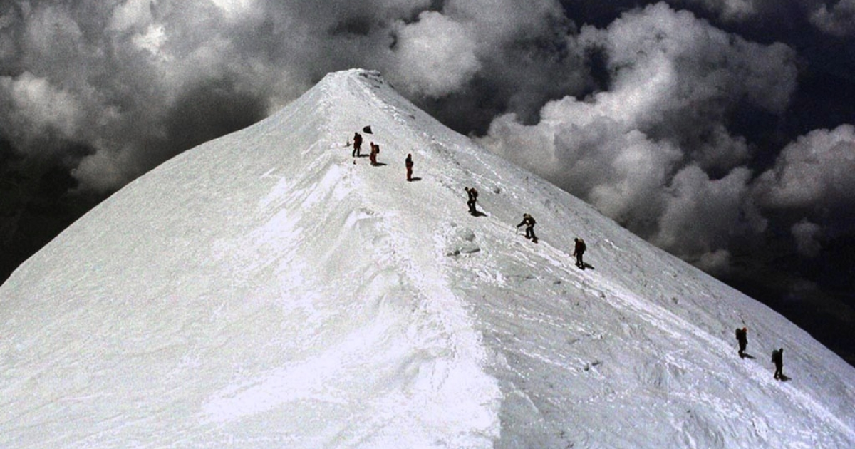 Yong Chun Kim was leading 16 hikers down Mt. Ranier when he fell 150 feet, separating him from the group.</p>