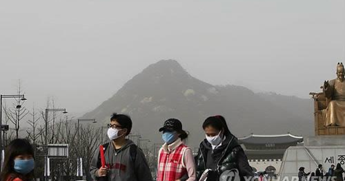 South Korean press reports the yellow dust that blows in from China each year contains radioactive particles.</p>