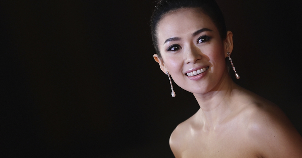 Actress Zhang Ziyi attends the 'Love For Life' premiere during the 6th International Rome Film Festival on November 2, 2011 in Rome, Italy.</p>