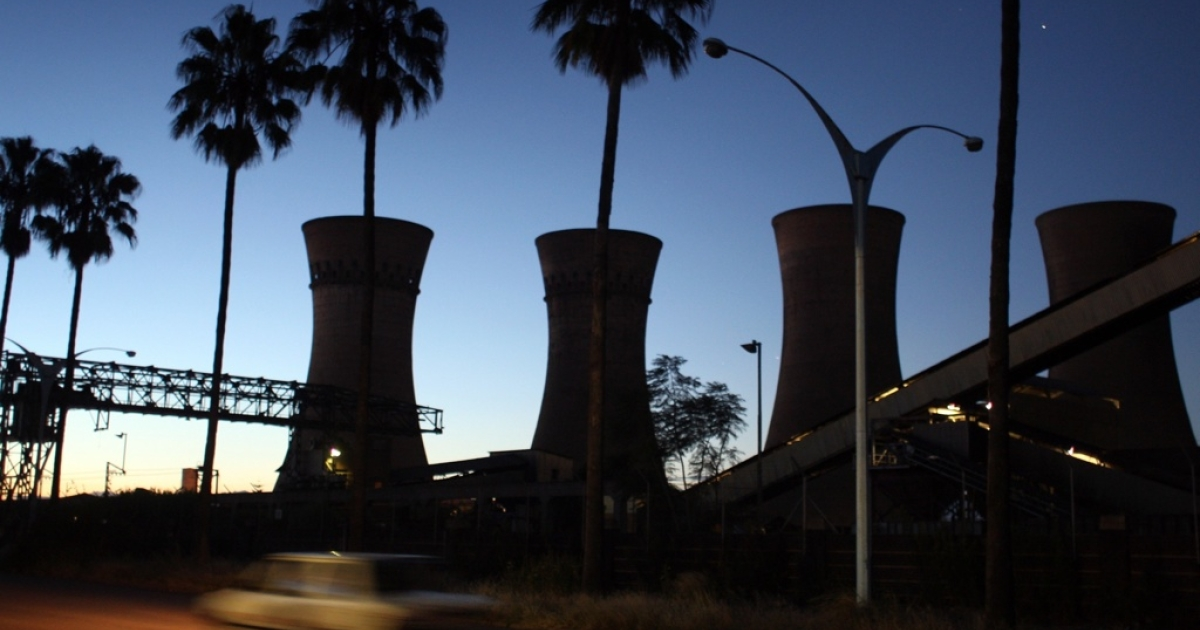 The power station in Bulawayo, Zimbabwe. Police freed BBC classical music presenter Petroc Trelawny after holding him for four days for allegedly working without a permit. Trelawny had been acting as an emcee at a music festival. Police dropped all charges.</p>