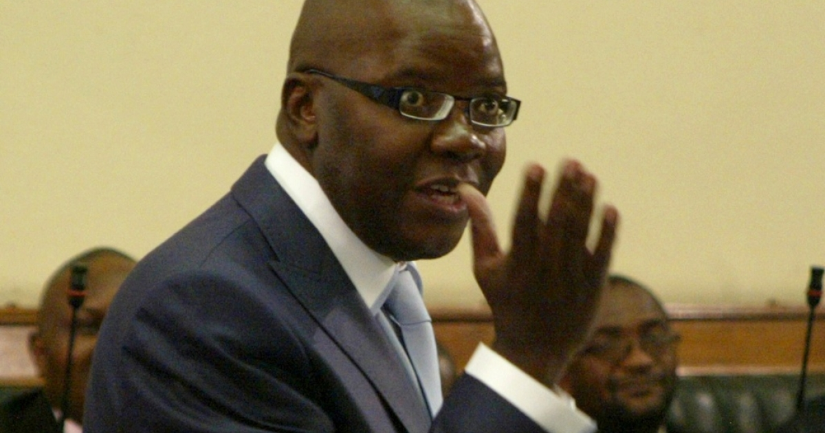 Zimbabwe Finance Minister Tendai Biti said that $14 billion is needed to get the country's economy back on track. Here Biti is presents his budget to parliament in November 2011.</p>