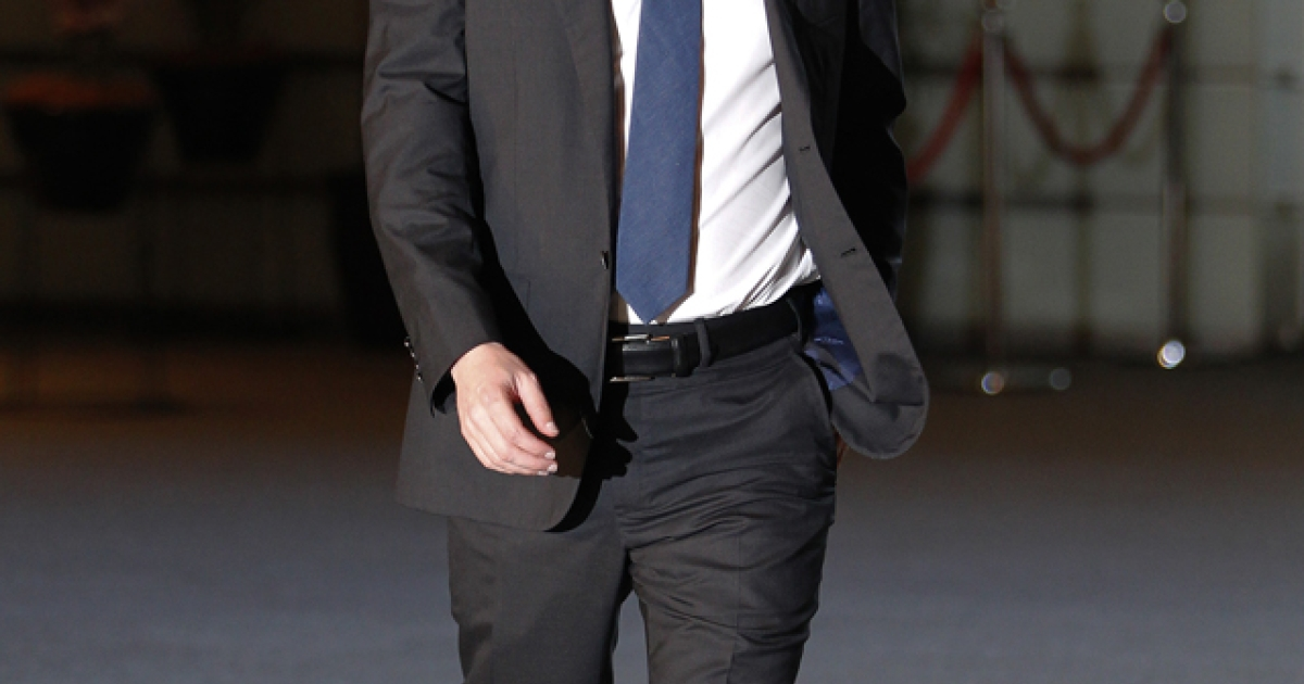 Facebook CEO Mark Zuckerberg arrives at Japan's Prime Minister Yoshihiko Noda's official residence prior to a meeting with the Prime Minister in Tokyo on March 29, 2012. Facebook's IPO date has been set for May 18.</p>