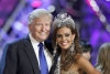 Donald Trump, back in 2013 when Univision was still interested in airing the Miss USA beauty contest,  a franchise the businessman co-owns. On June 25th Univision cut ties with the pageant and all other businesses associated Trump after he made negative r