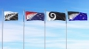 NZ top four flags