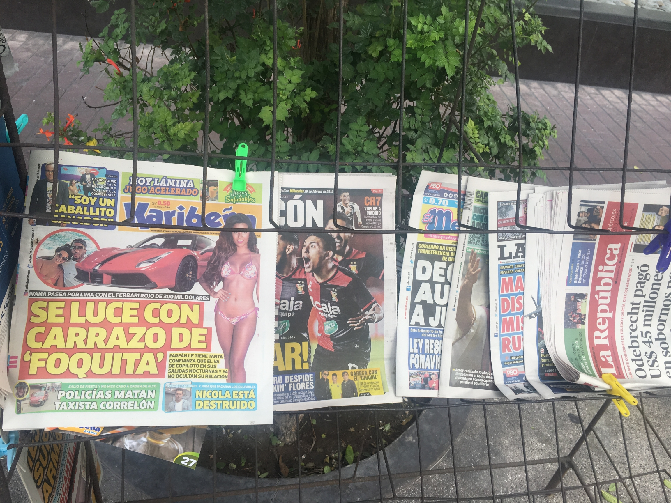 peruvian tabloids