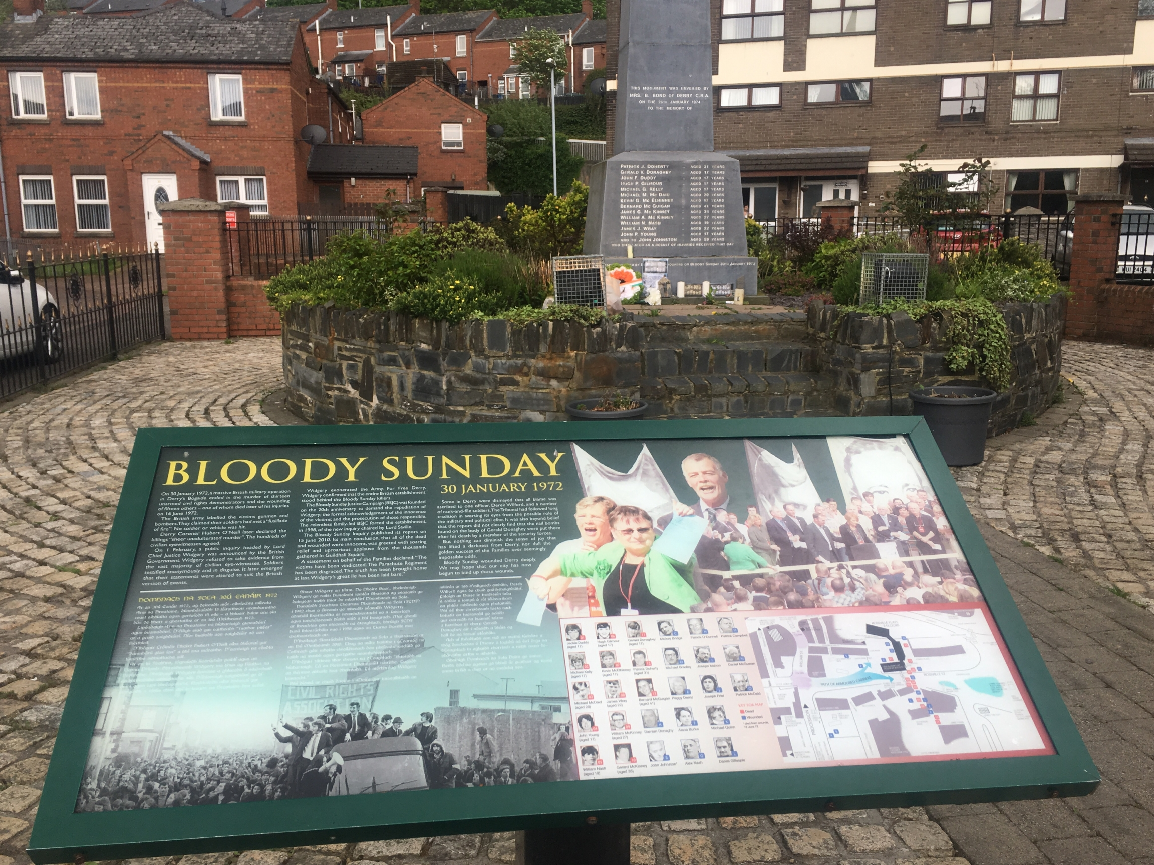 Bloody Sunday sign