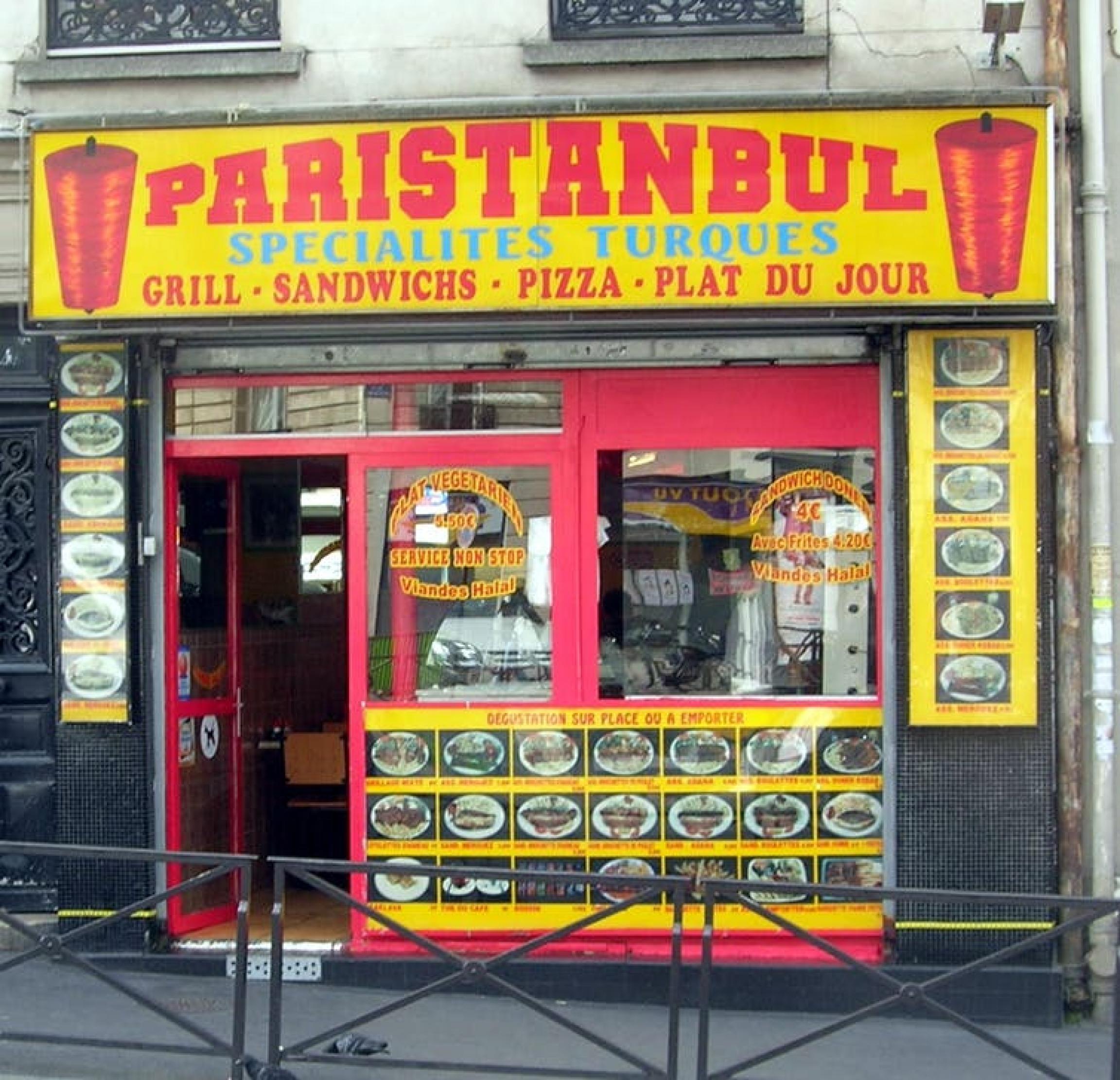 doner kebabs in paris
