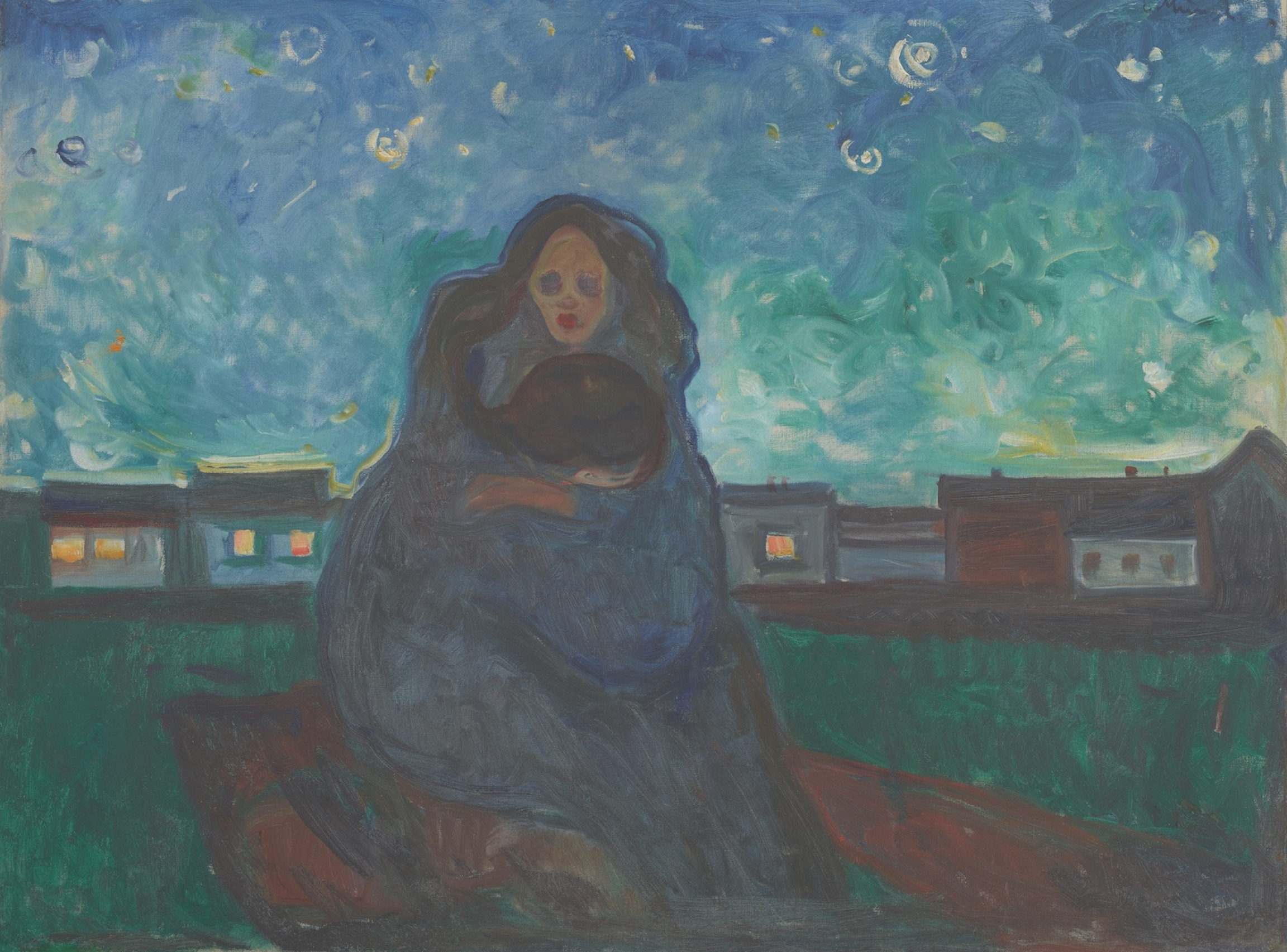 """""""Under the Stars"""" (1900-5) by Edvard Munch"""
