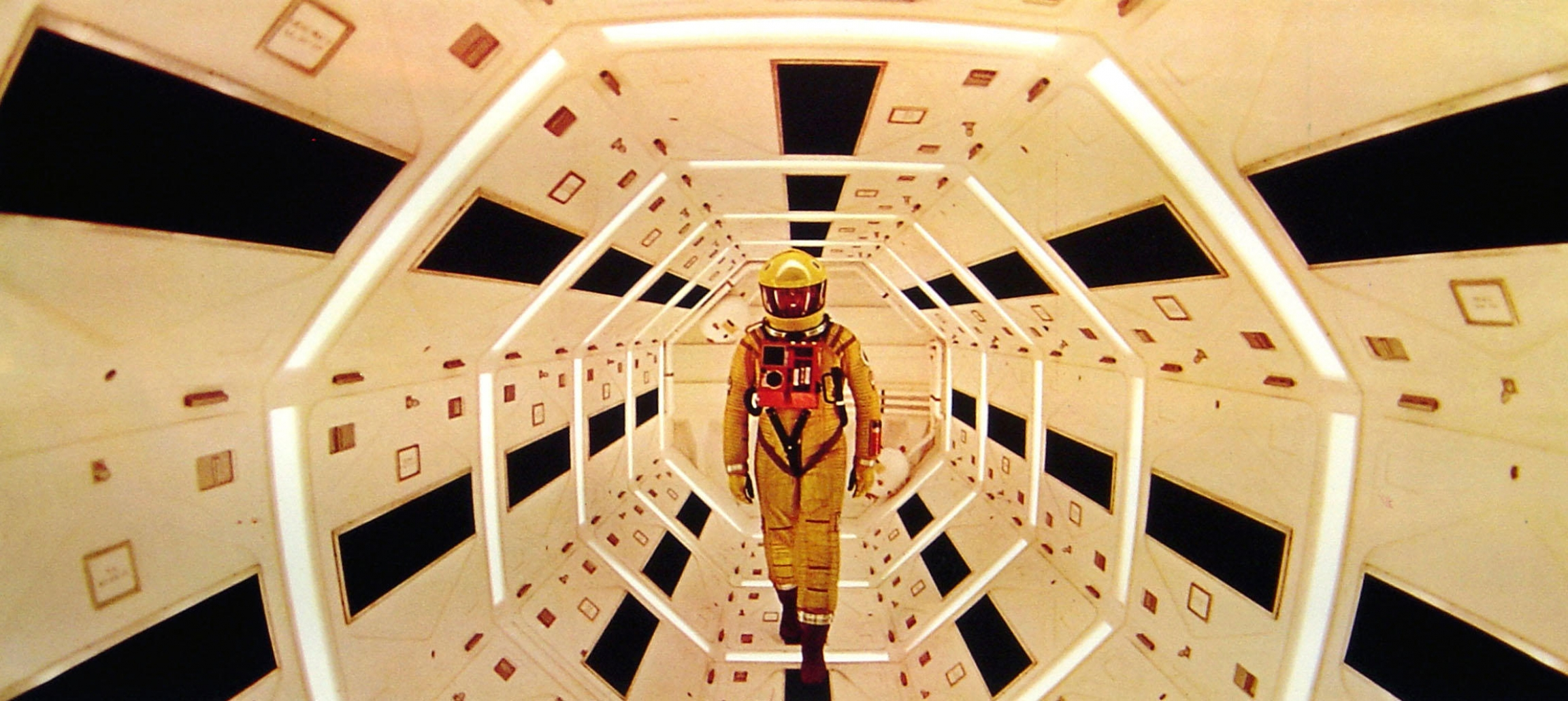 "A still from ""2001: A Space Odyssey."""