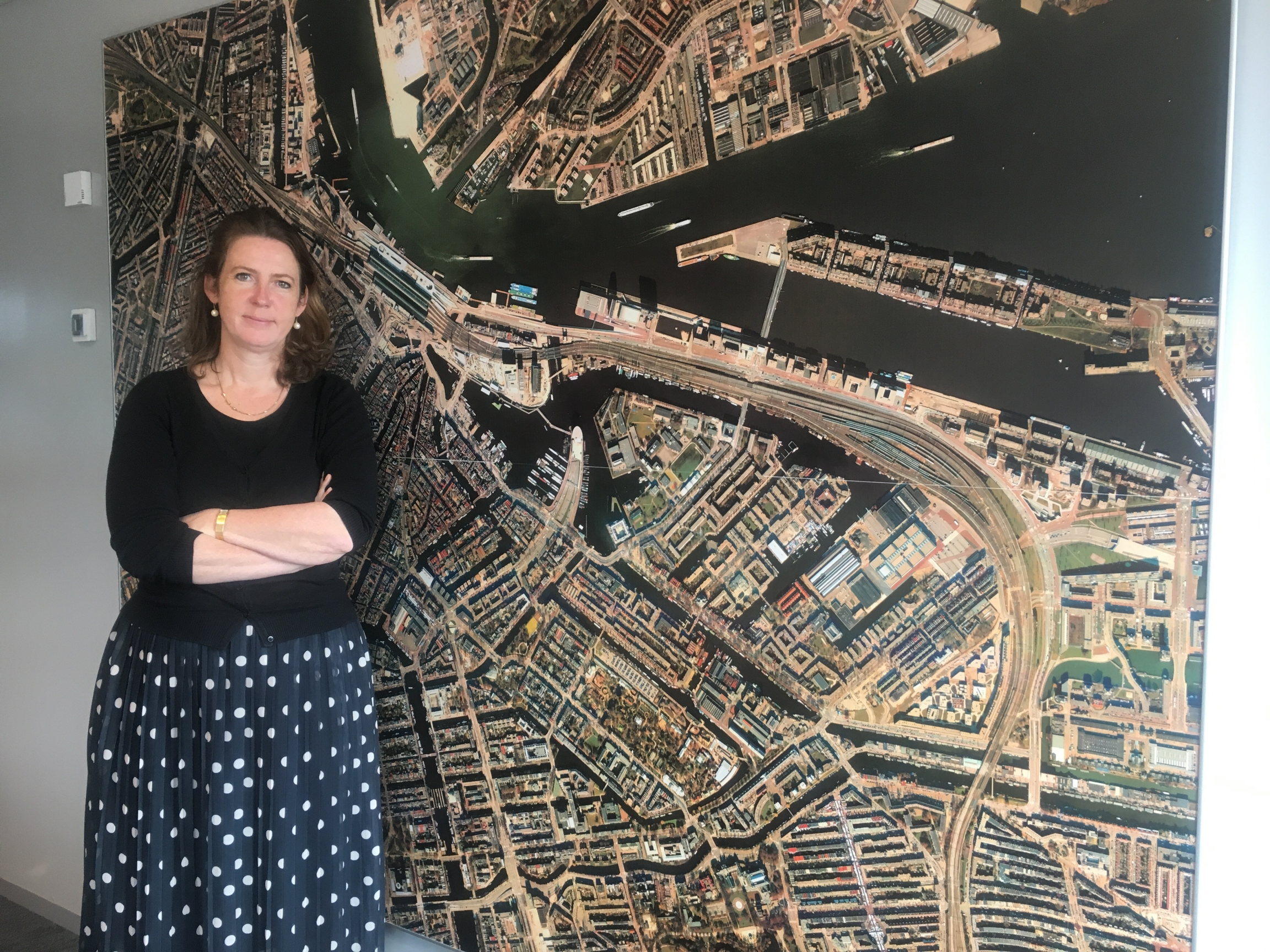 Mascha ten Bruggencate, district governor with the city of Amsterdam