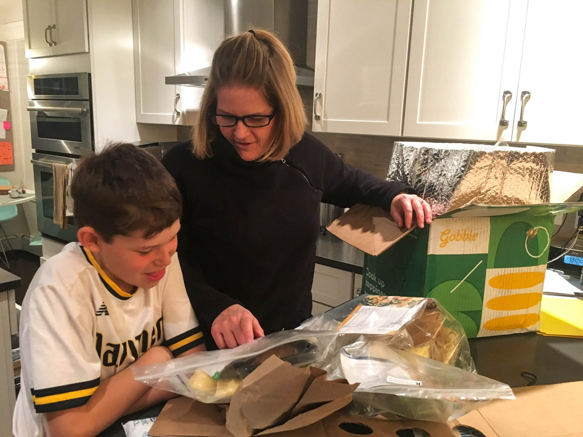 Wednesdays are a big deal when our meal kit arrives. For my son, Charley, and wife, Amy, it's like unwrapping a present.