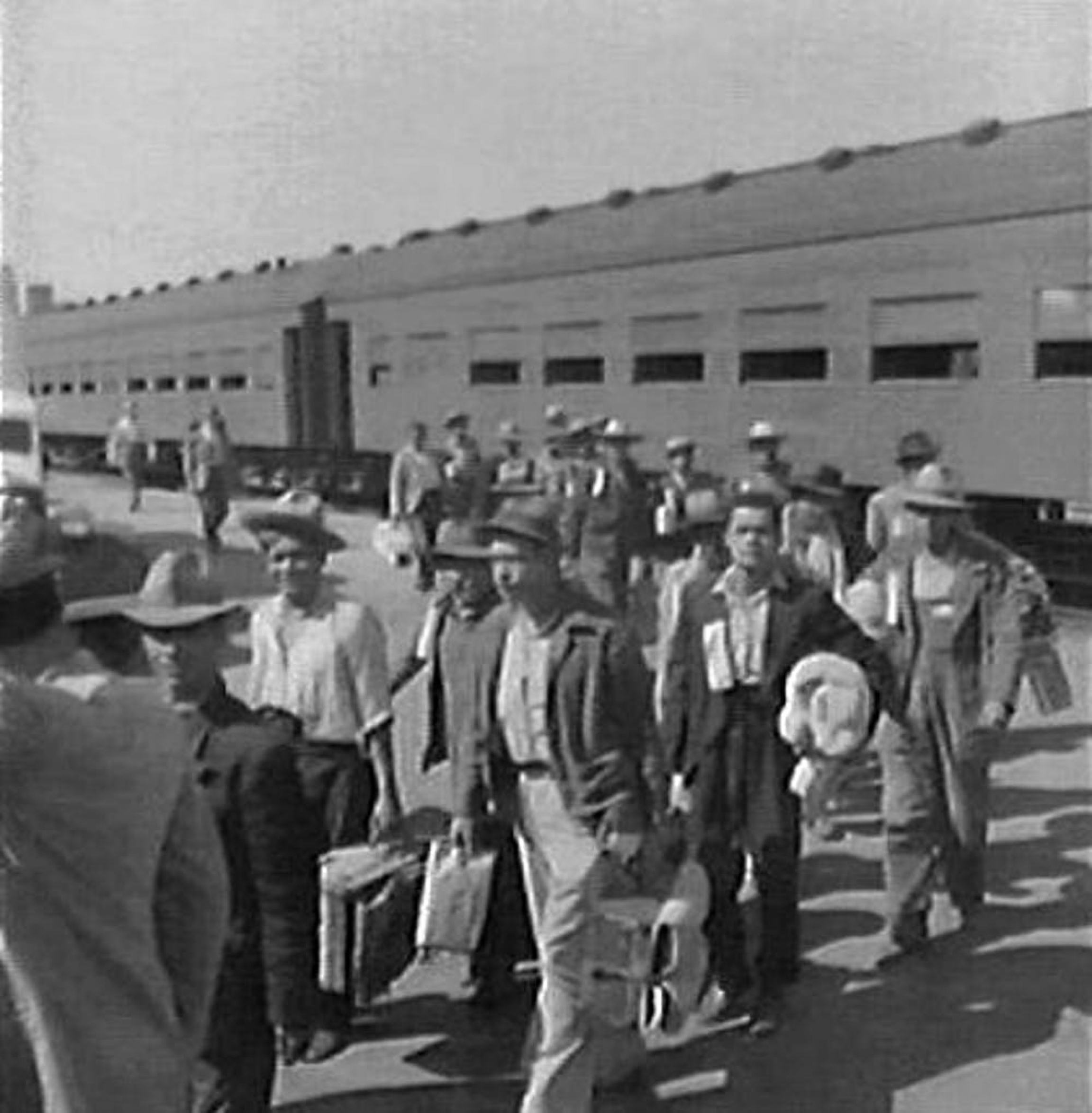 Mexican migrants during the Bracero program.