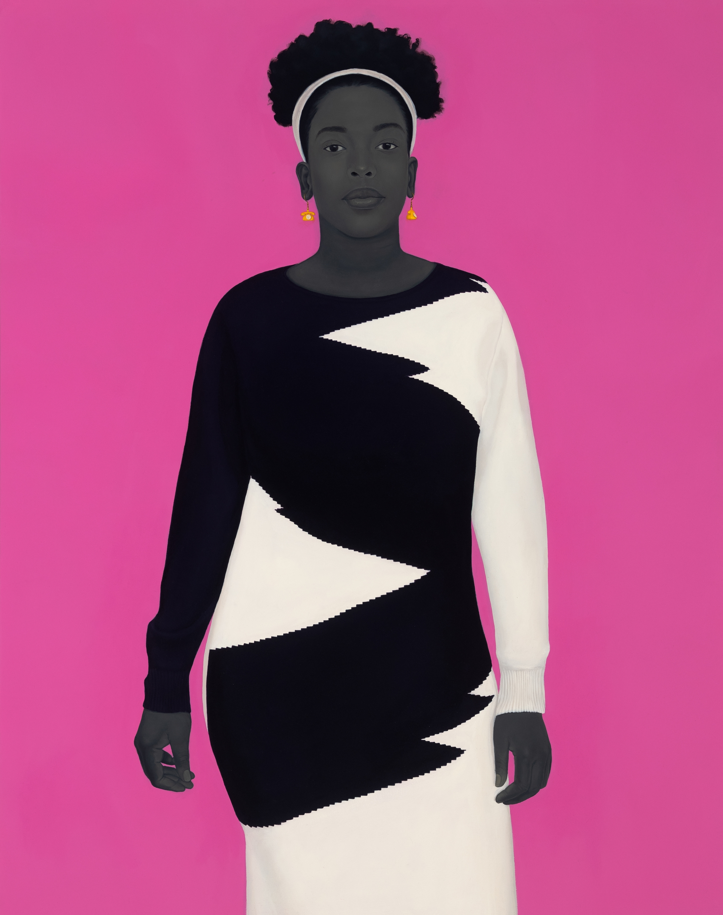 """""""Sometimes the king is a woman,"""" 2019, copyright Amy Sherald."""