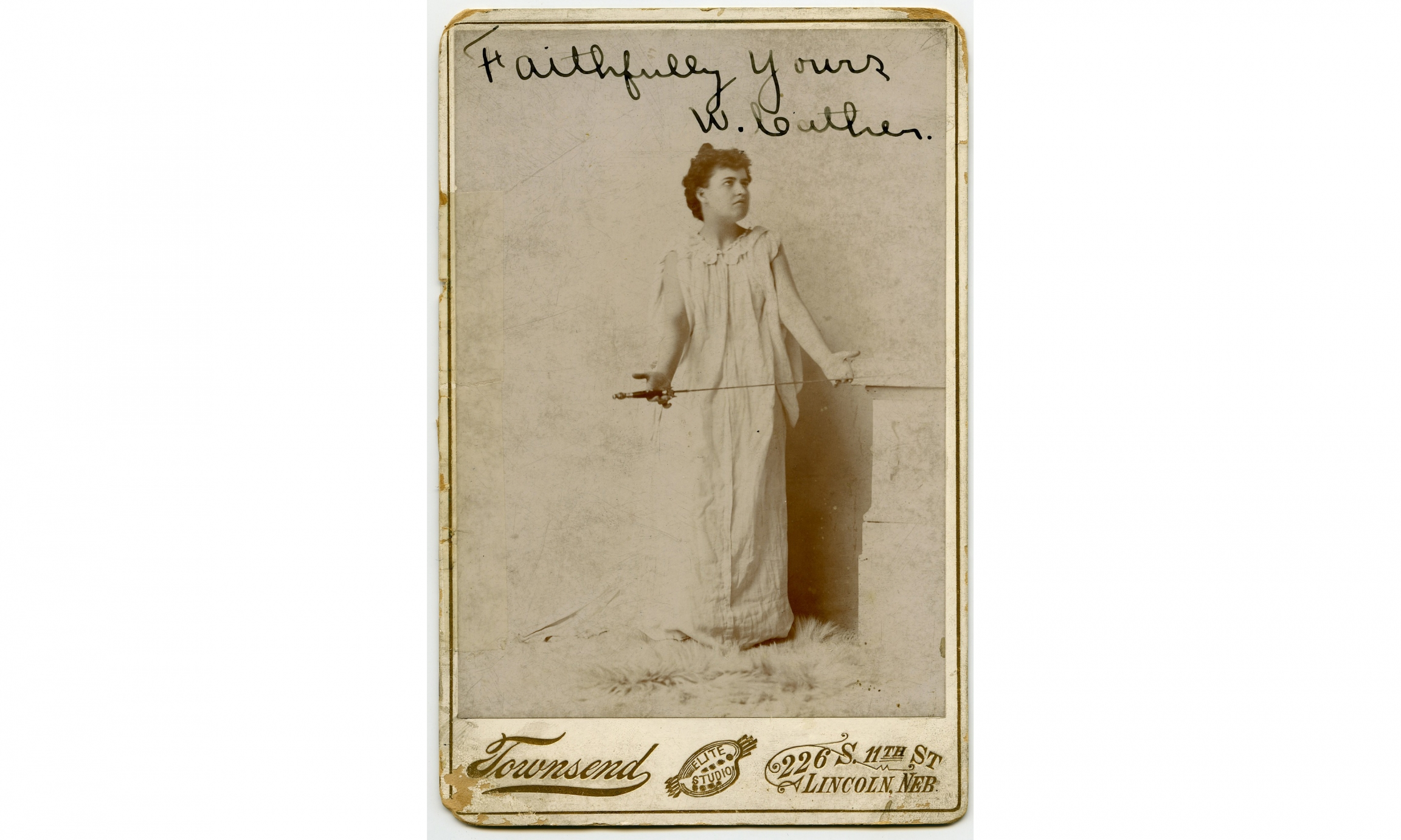 Willa Cather as Electra.