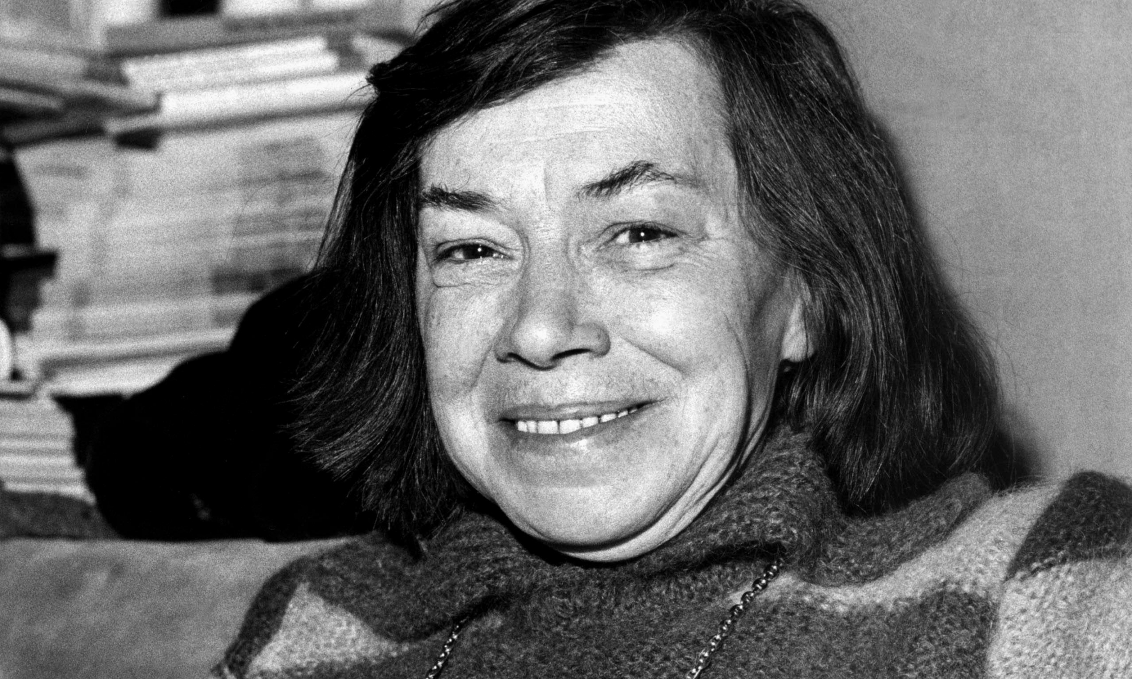 Author Patricia Highsmith in 1978.