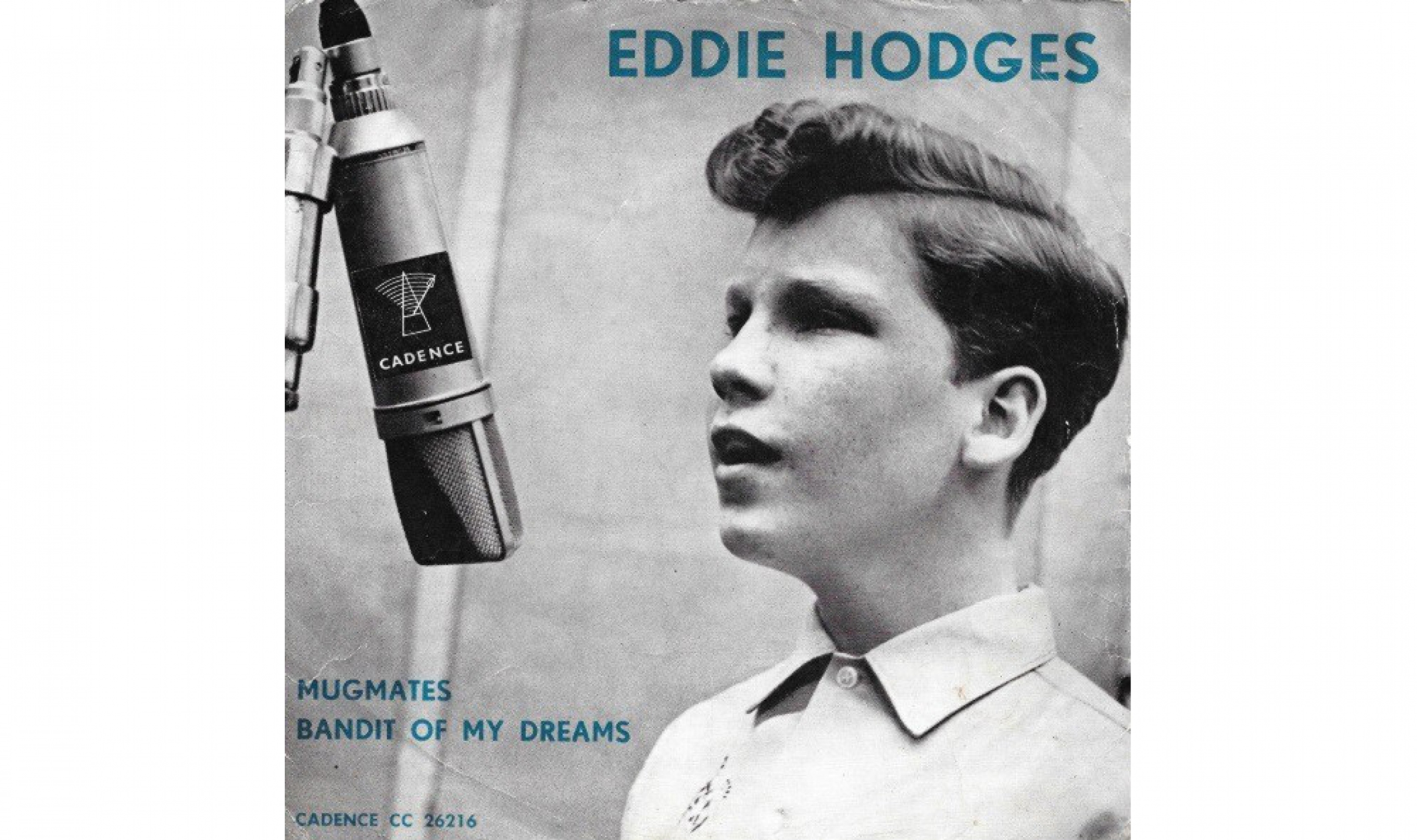 "Eddie Hodges' ""Mugmates"" single."