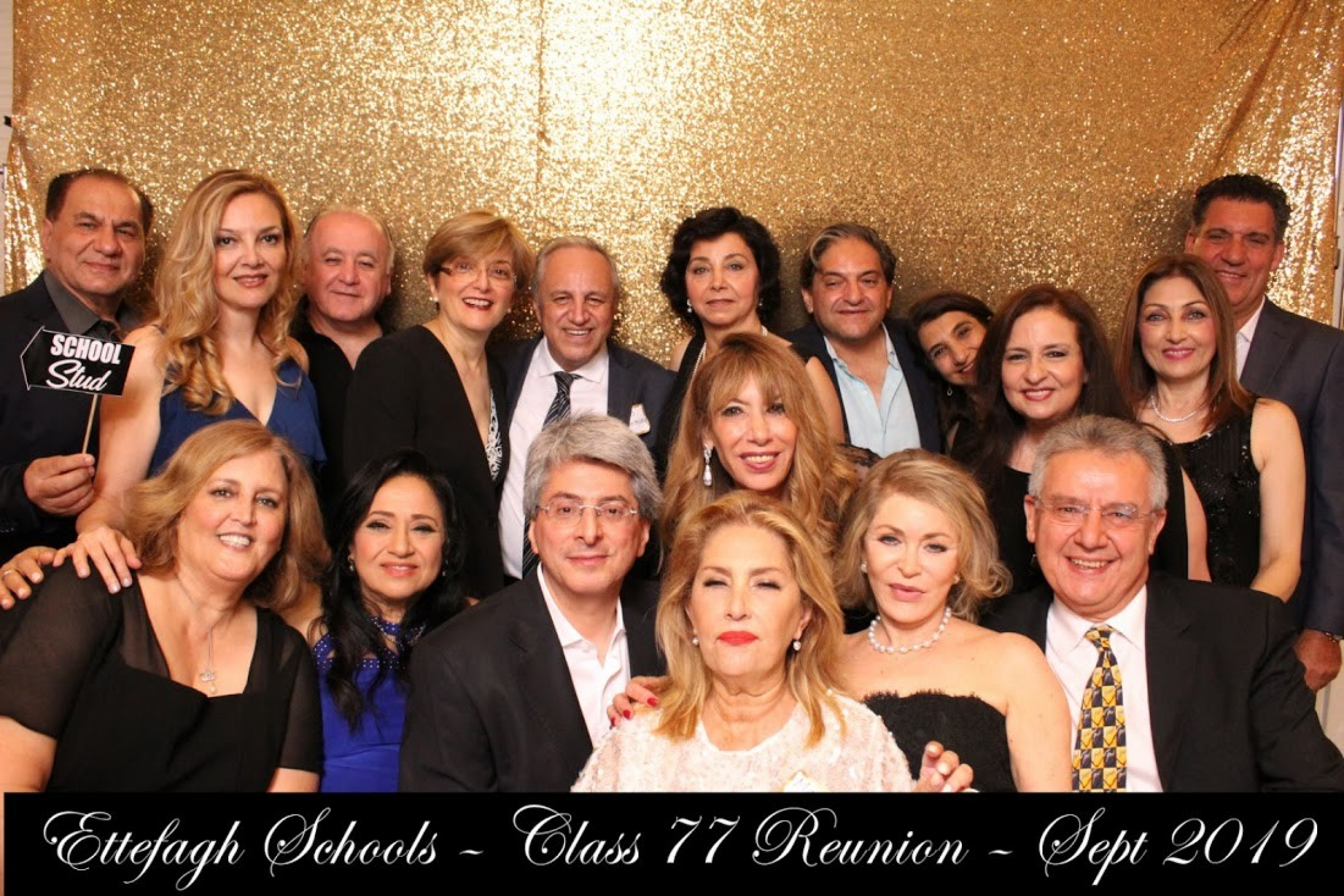 Former Ettefagh School classmates settled around the United States, Canada and Israel after leaving Iran around the time of the 1979 Islamic Revolution. On Sept. 1, 2019, about 50 alumni came from around the world to attend their first formal high school