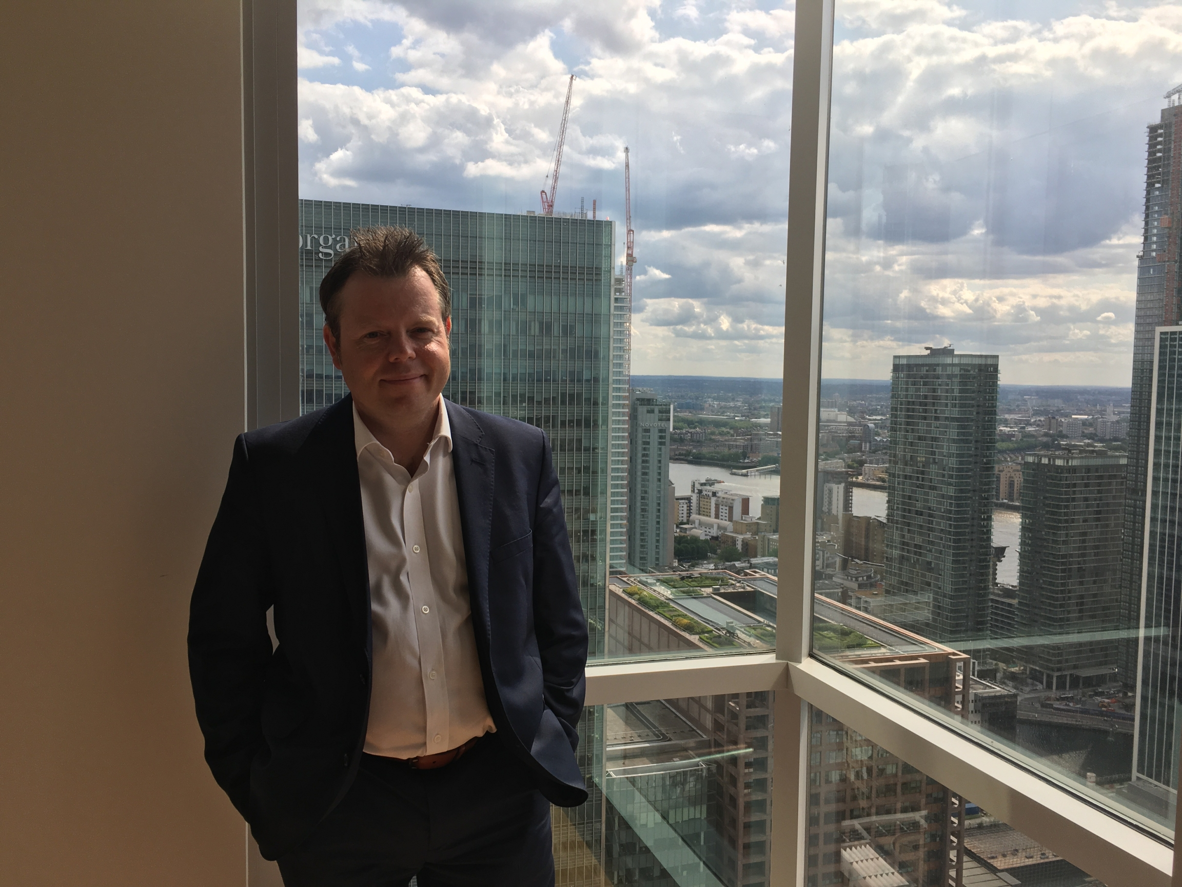 Martin Gettings, the head of sustainability at Canary Wharf Group, is working to reduce plastic waste across this multi-billion dollar commercial estate, which was just labeled the first plastic-free commercial district in the UK.